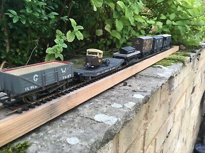 00 GAUGE Job Lo Of 6 GWR Wagons -  2x Wrenn ,3 Hornby,1 X Mainline • 10.50£