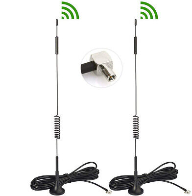 AU13.48 • Buy 2pc For HUAWEI B818 B818-263 Router 4G LTE TS9 ANTENNA External Magnetic Antenna