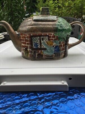 Vintage  Decorative Cottage Teapot By Tony Wood Studio No Chips Or Cracks • 9£