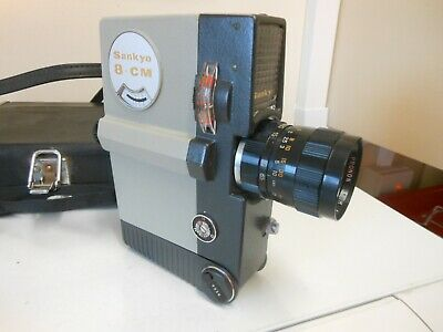 Old Sankyo 8mm Movie Camera,,,,,,,58 • 9£