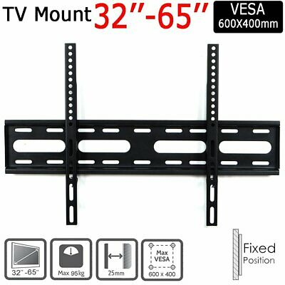Large TV Wall Bracket Mount For 32 37 40 42 46 47 50 52 55 60 70 Inch Monitor • 10.49£