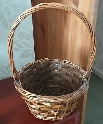 Wicker Basket With Handle • 3.60£