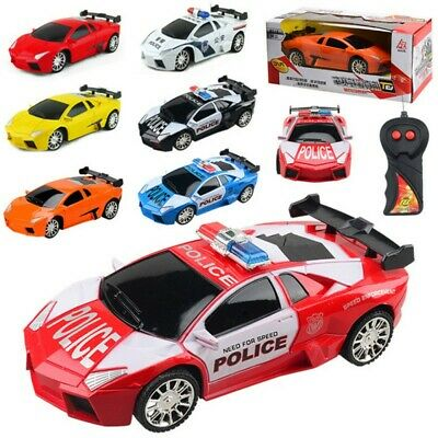 1:24 Model Electric Polices RC Cars 4 Toys For Boys Racing Car Gift For Kids UK • 10.66£