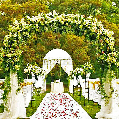 $37.99 • Buy Wedding Arch Backdrop Iron Stand Flower Frame For Party Metal Decorations Supply