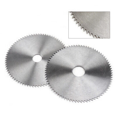 £6.22 • Buy 2Pc TCT Circular Saw Blades Disc Wood Cutting 110mm X 16mm 80T For Angle Grinder