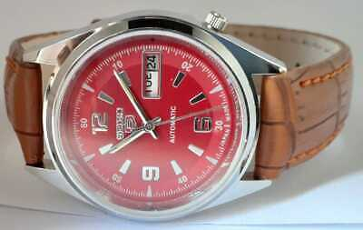 $ CDN45.62 • Buy Vintage Seiko 5 Automatic Movement No.6309 Japan Made Day-Date Men's Wrist Watch