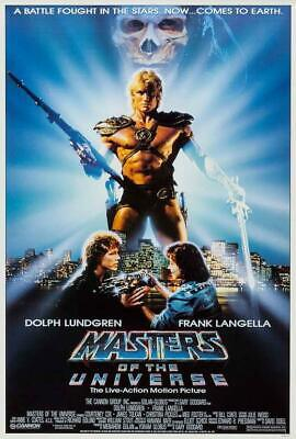 $15.83 • Buy Masters Of The Universe Movie POSTER 27 X 40 Dolph Lundgren, Frank Langella, A