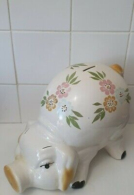 Vintage Big Piggy Bank • 25£