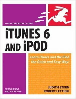 AU9.33 • Buy ITunes 6 And IPod For Windows And Macintosh (Visual QuickStart Guides) By Judit