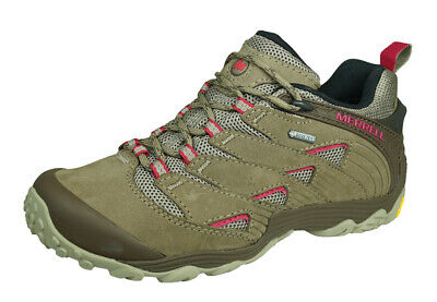 Merrell Chameleon 7 GTX Womens Gore Tex Hiking Shoes Outdoor Trainers - Brown • 76.45£