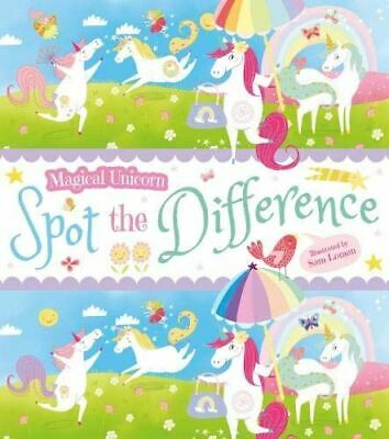 £4.99 • Buy Magical Unicorn Spot The Difference (Magical Unicorn Activity Book) [Paperback]