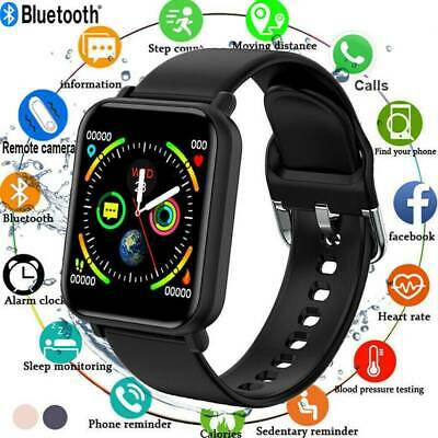 AU21.59 • Buy Waterproof Smart Watch Heart Rate Fitness Tracker Bracelet For Android IPhone AU