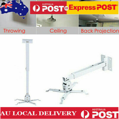 AU19.68 • Buy Universal LED LCD Video Projector Ceiling Mount Bracket Extendable Wall Mount AU