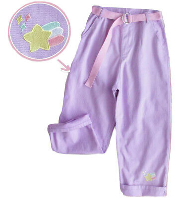 $ CDN33.39 • Buy Kawaii Clothing Pants Purple Pastel Goth Harajuku Ulzzang High Waist Jeans Baggy