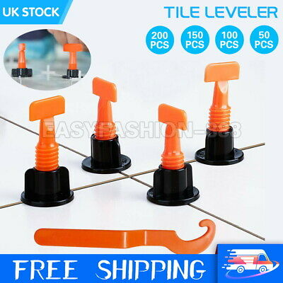 100PCS Wall Floor Tile Leveler Construction Reusable Leveling System Tools UK • 0.99£