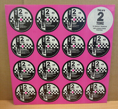 2 Tone This Are Two Tone Uk Two Tone Records Lp Chrtt5007 Pink Cover Poster Mint • 20.01£