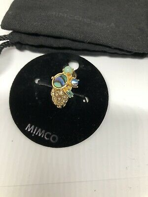 AU8.50 • Buy Genuine Mimco Azureus Ring Size Small New With Tag