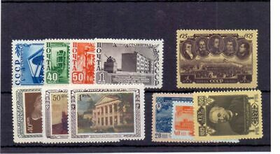 Russia 1950 - Four Sets Mnh Cat £105  • 9£