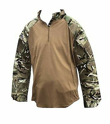 £15 • Buy British Military Army Warm Weather Brown Padded UBAC Under Shirt Various Size
