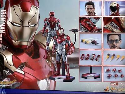 $ CDN1128.26 • Buy Early Edition Hot Toys Diecast Mark 47 Spider-Man Homecoming With Box Rare