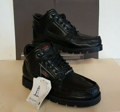Rockport Excellent Black Leather Ankle Boots,uk 7,usa 8, Brand New • 12.50£
