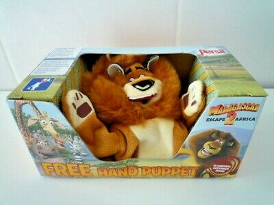 Madagascar 2 Alex The Lion Hand Puppet (Persil Promo) Boxed • 1.99£