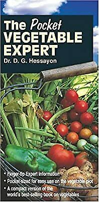 The Pocket Vegetable Expert, Hessayon, D. G., Used; Good Book • 3.17£