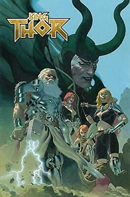 King Thor By Esad Ribic,Jason Aaron, NEW Book, FREE & FAST Delivery, (Paperback) • 10.27£