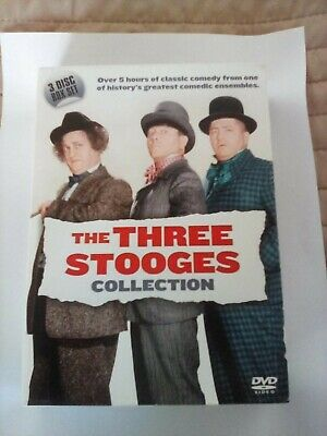 The Three Stooges Dvd Collection 3 Dicsc Very Good Condition • 5.90£