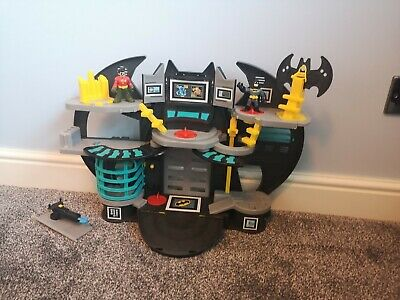 Batman Imaginext Bat Cave Playset With Figures And Blue Shooter • 1.20£