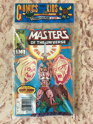 $39.95 • Buy # 1 2 3 MASTERS Of The UNIVERSE MoTU Marvel Star Factory Sealed Comic Book Pack