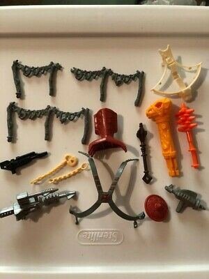 $20.50 • Buy Vintage MOTU Masters Of The Universe Weapons And Accessories Lot