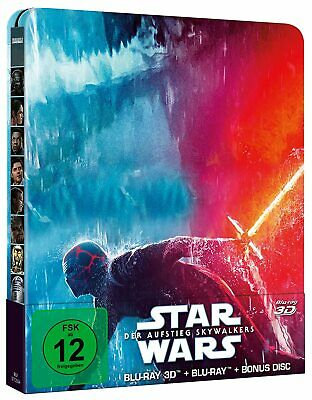 AU61.77 • Buy Star Wars - The Rise Of Skywalker (3D + 2D Blu-ray Steelbook) Brand New & Sealed