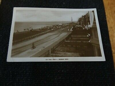 £1.40 • Buy On The Front Herne Bay Postcard Rawcliffe Lodge Kent - 27098