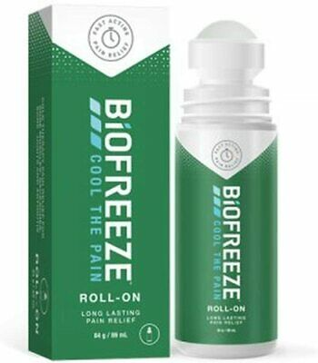 Biofreeze Cool The Pain Roll On 89ml (Pack Of 3) • 29.23£