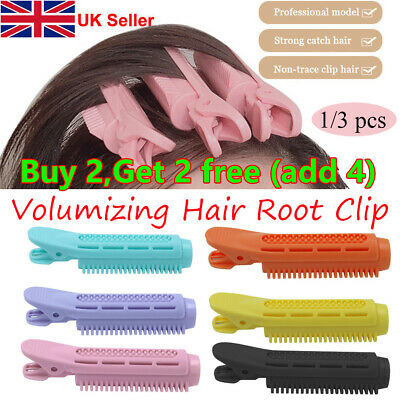 1pc Volumizing Hair Root Clips Hair Curler Roller Wave Fluffy Clip Styling Tools • 3.50£