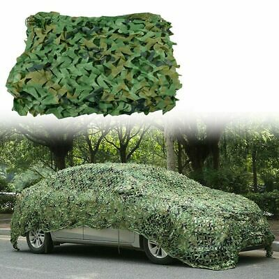 Army Camouflage Net Camo Netting Camping Shooting Hunting Hide Woodland Cover UK • 10.34£