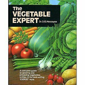 The Vegetable Expert (Expert Books), Hessayon, Dr D G, Used; Good Book • 3.70£