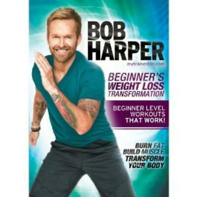 Bob Harper Beginners Weight Loss Transfo DVD Incredible Value And Free Shipping! • 10.22£