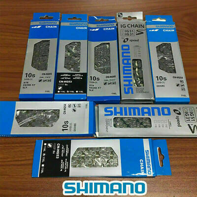 6/7/8/9/10 Speed Bicycle Bike Steel Chain With 116 Links For SHIMANO UK STOCK • 6.99£