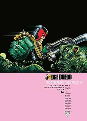 Judge Dredd The Complete Case Files Vol. 17 By John Wagner (Paperback, 2019) • 16.90£