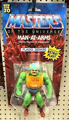 $21.98 • Buy MOTU Masters Of The Universe MAN-AT-ARMS Master Of Weapons Figure 2020 READ!!