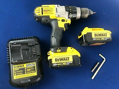 $59.99 • Buy DeWALT DCD985M2 20vMAX 1/2  3-Speed Hammerdrill/Driver Kit 2 Batteries