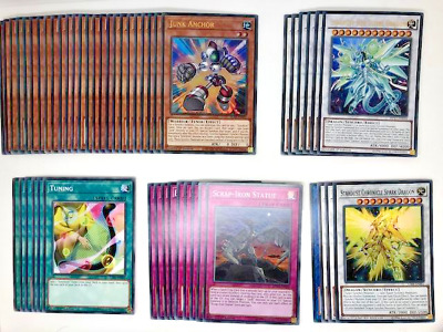 Yugioh - Competitive Deluxe Stardust Sifr Divine Dragon Deck + Extra Deck • 24.99£