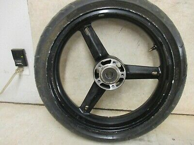 $99.98 • Buy 03 04 Suzuki Gsxr1000 Gsxr 1000 Front Wheel Rim Tire Stock Oem -7700
