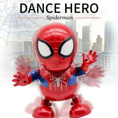 AU19.43 • Buy Toys For Boys LED Robot Dance Spiderman 2 3 4 5 6 7 8 9 Year Age Old Best Gifts/