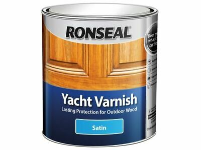 Ronseal Exterior Yacht Varnish Satin 500ml • 15.90£
