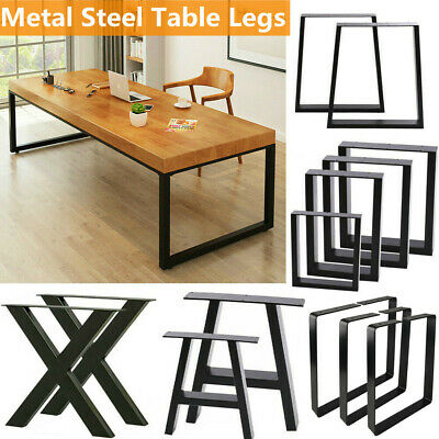 2pcs Industrial Steel Metal Table Legs Cabinet Chair Desk Legs Set Uk Stock • 43.99£