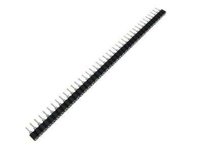 $2.35 • Buy 1x40P 40-Pin 2.54mm Single Row Male Header Swiss Round Machined Pins - Pack Of 5