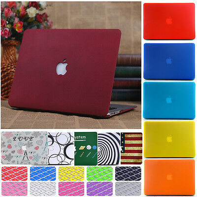 £9.99 • Buy For MacBook Matt Hard Case Keyboard Cover Air Pro 11 12 13 15 Inch Retina Touch